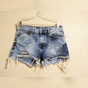 H&M High Waisted Boyfriend Shorts